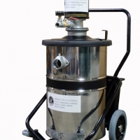 1J18- 18 Gallon Air Operated Vacuum