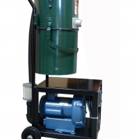 A Arco 1000 P is built on a cart with easy mobilty in mind. Ideal for light clean-up in large areas.