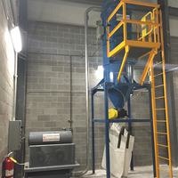Vacuum system to clean silica dust & concrete