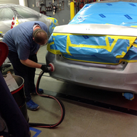 Vacuum Assist Sanding