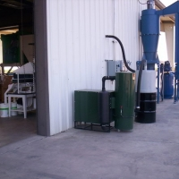 Arco 600 Series stationary unit located outside processing facility.